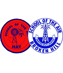 School of the Air Broken Hill and Hay logo